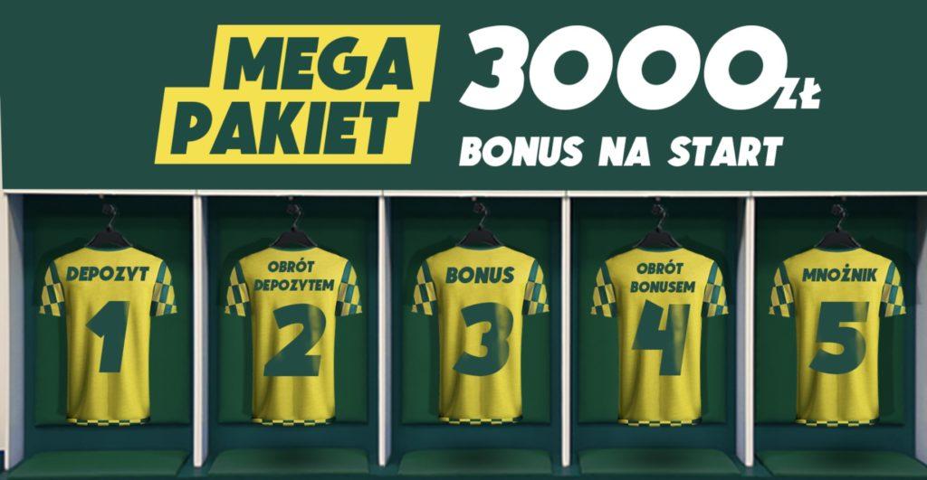 Betfan bonus powitalny to teraz nawet 3050 złotych!